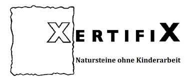 XertifiX Standard Label invertiert