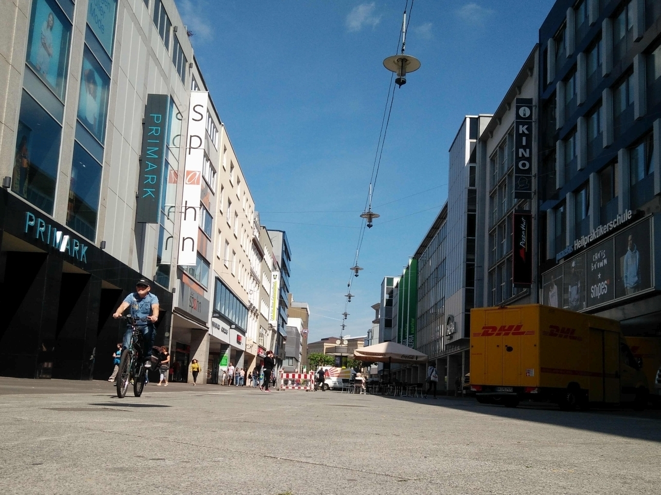 Fußgängerzone Saarbrücken, Foto Harald Kreutzer